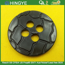 50MM 4 holes Plastic Button For Ladies Coats -- PS0874