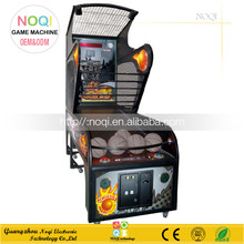 NQT-A06 metal material street basketball indoor arcade hoops cabinet basketball game
