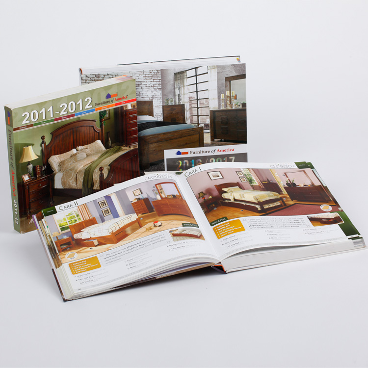 Excellent larger full color Hardcover Catalogue printing