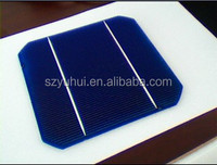 High efficiency and good quality 125*125 mono crystalline solar cell 5x5