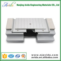 Metal timber floor expansion joints