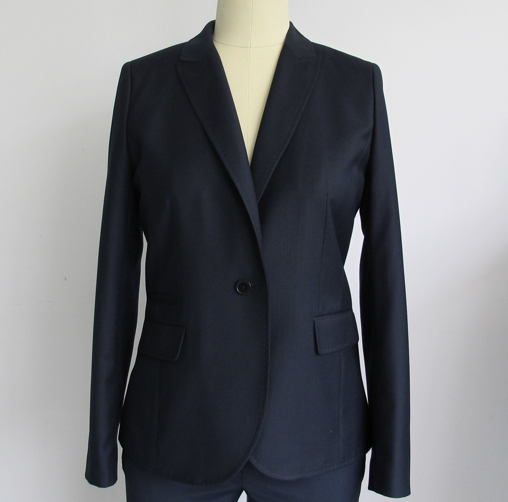 Ladies 100% Polyester pictures of women wearing suits jackets clearance