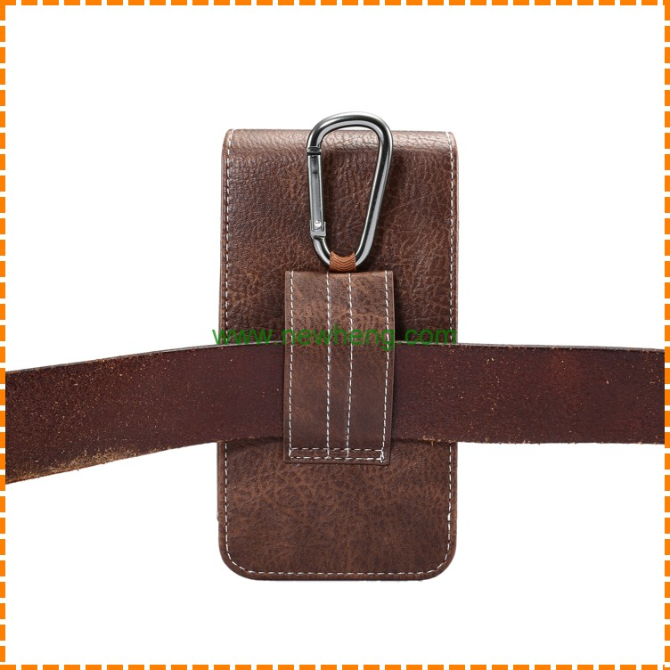 Belt Clip Holster PU Leather Hanging waist Pouch Case Cover for iPhone 6 6s 7 Plus