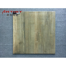 Chinese glossy finished glazed gres wooden letter floor tile
