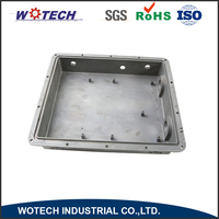 Customized electric die cast aluminum gray boxes