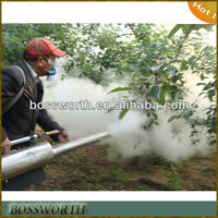 Electric Aerosol Sprayer In Agricultural Garden