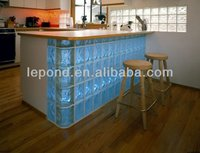glass brick bar/hollow glass brick