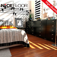8mm AC3 E1 german technique best price with CE certificate modern house design hdf wooden plastic laminate flooring