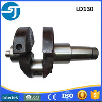 China sale 4 stroke diesel engine parts LD130 crankshaft assy
