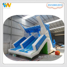 Top quality inflatable dolphin water slide for sale