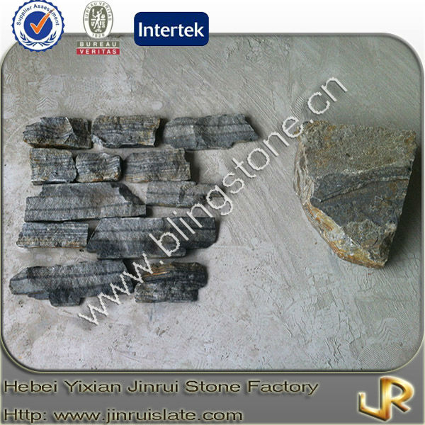 Natural ocean green quartz stone tiles for living room
