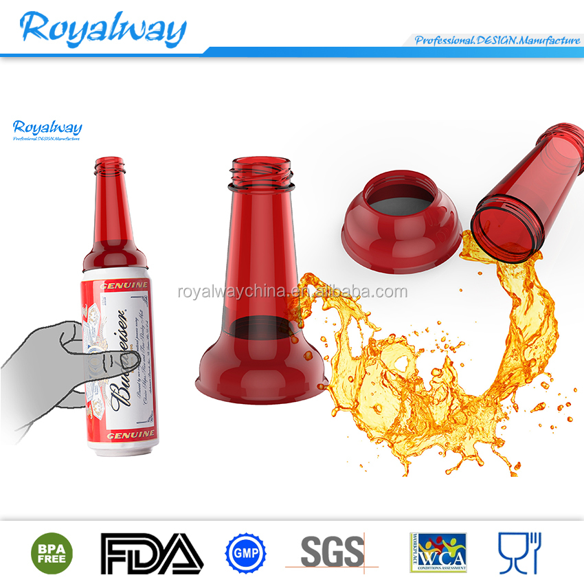 Custom plastic shaker joyshaker bottle, plastic drinking bottle