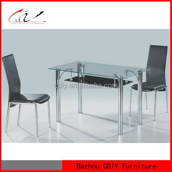 modern glass dining table DT-123
