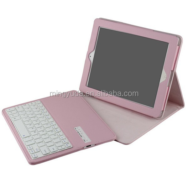 Magnetic 3.0 ABS removable keyboard case for ipad 2/3/4