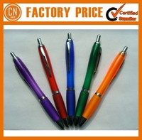 2015 Best Quality Plastic Customized Promotional Pen With Company Logo Printed