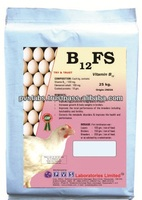Vitamins B12 feed for poultry
