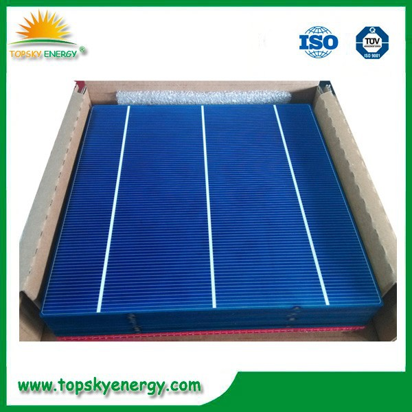 No color difference A grade polycrystalline silicon solar cell price,europe/Japanese cell