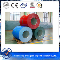 China PE Coated 0.23mm thickness AZ90 Prepainted Galvalume Steel/PPGL Coil for Malaysia