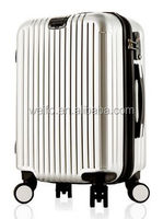 ABS+PC trolley travel luggage hard side