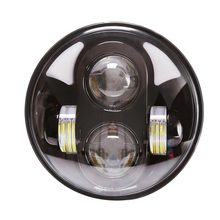 5-3/4Inch harleys headlight with projector lens for motorcycle jeeps truck off-road