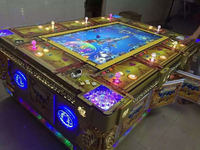 The Factory of dragon king fish hunter arcade game machine