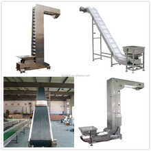 Good performance lifting conveyor high inclination angle belt conveyor with reasonable price
