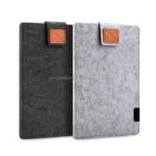 13 15 inch Wool Felt Inner Notebook Laptop Sleeve Bag Case Carrying Handle Bag For Macbook Air Pro Retina