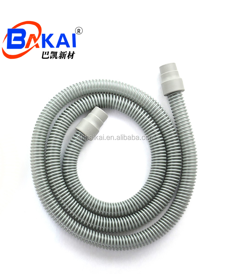 Cpap tubing grey 6 foot hose with Corrosion resistant