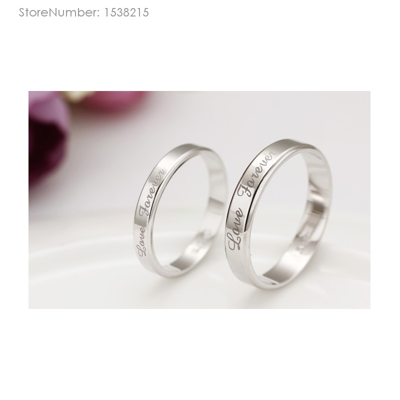 Fashion 2015 Designer Couple Rings Top Quality Silver Jewelry Men Women Rings