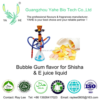 Strong concentrate shisha flavor manufacturer Bubble gum flavor for tobacco style hookah and vape juice