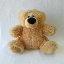 cute plush teddy bear with polyester printable T-shirt