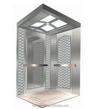 Small shaft elevator light curtain elevator