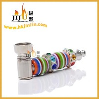 JL-221 Yiwu Jiju Bone Smoking Pipe, Good Metal Pipes for Smoking