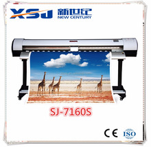Hot Selling 1.6m wide Format storm jet SJ7160 eco Solvent Printer ,Wide Format ECO Solvent Printer