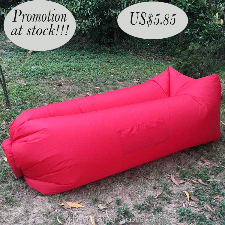 2016 hotsale Fast Inflatable Air Bag Sofa Camping Bed Hangout Bean Bag Sleeping Lazy Lounger
