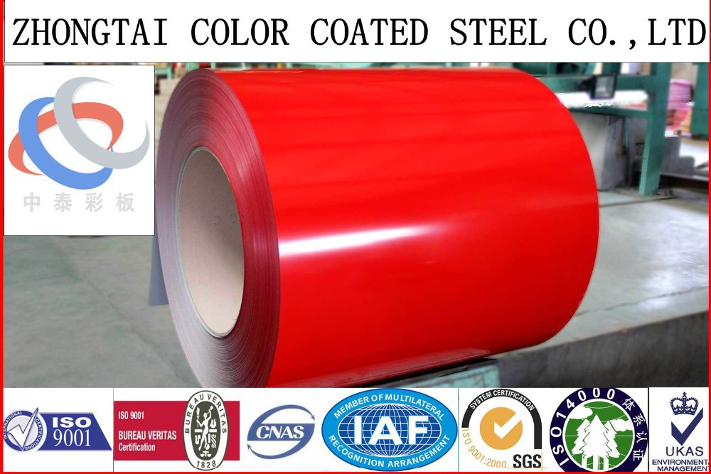 1200 mm metal roofing building materials hard color coated galvanized sheet for Vietnam