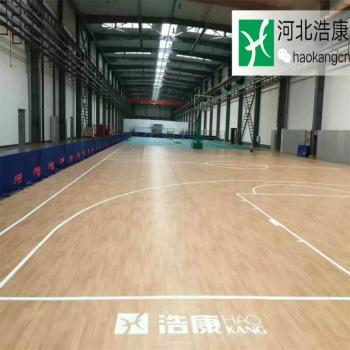 Anti-Slip Indoor PVC Sports Rolls Basketball Courts PVC Flooring