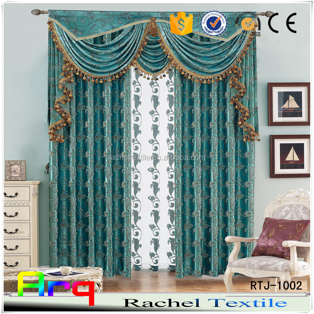 Classic Middle east style Silk look 100% polyester new soft fabrics for curtain/ sofa/cushion/bed sets dark blue brown purple
