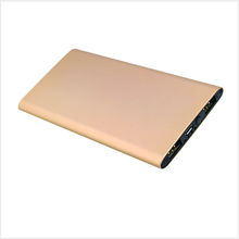 Portable and Super slim Power Bank 5000mAh for Tablets &Smatrphones with Aluminnum Shell