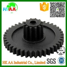 Custom precision double spur gear, China cheap factory price plastic double spur gear