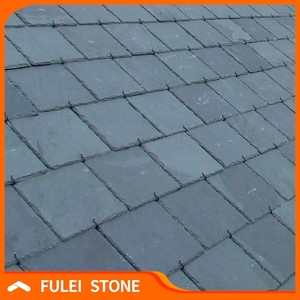 Wholesale lowes natural roof black slate roofing stone tile