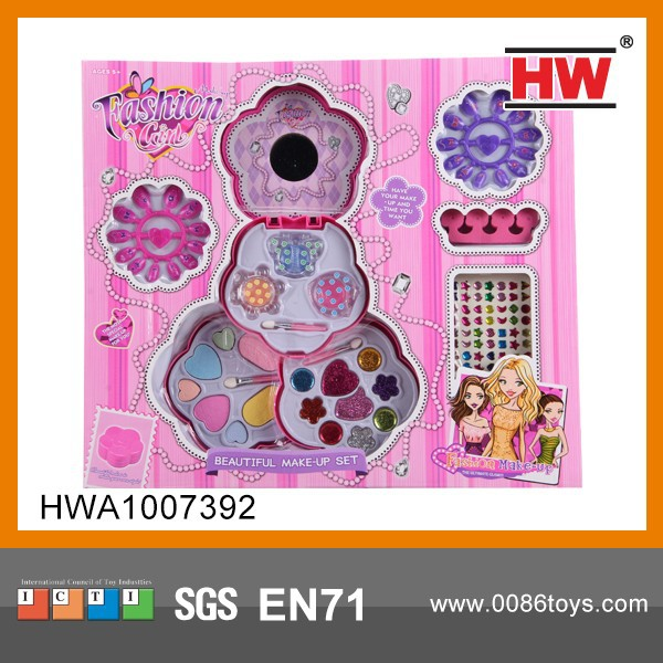 Hot Sale Party Beauty Play Children Makeup Kits For Girls