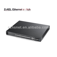 ZyXEL original 24 port POE unmanaged integration network router switch