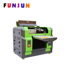 Funsunjet A3 SIZE DX5 head gold foil printing machine UV printer
