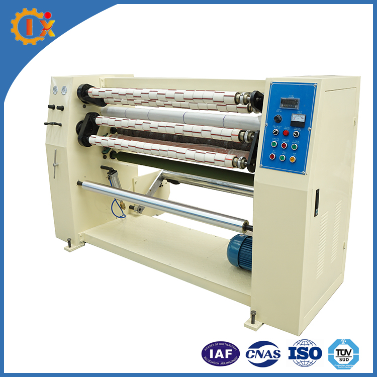 Small Bopp Gum Tape Roll Slitting And Rewinding Machine Film Slitting Rewinder Machine