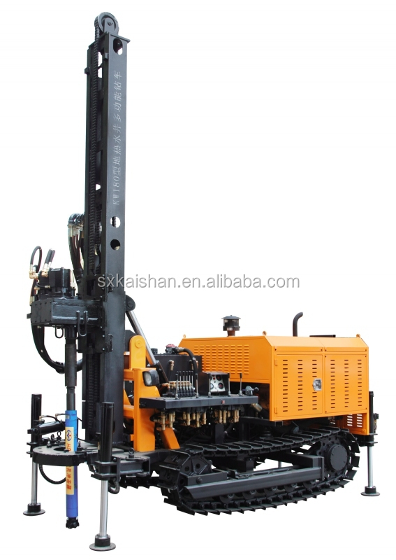 KW180 200m Depth water well drilling rig/Machine to dig deep wells