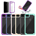Factory new update Hard and soft cover 2 IN 1combination case for iphone 8