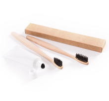 Hot sale Nature Charcoal Soft Bristle Wooden Bamboo Toothbrush