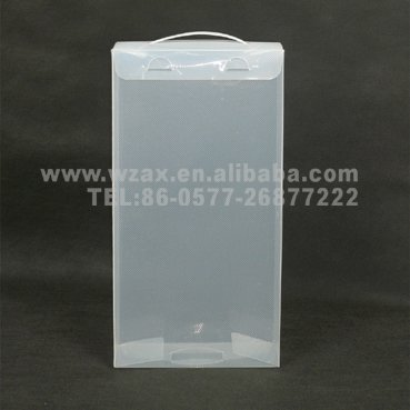 transparent shoes packing box