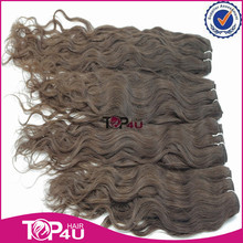 100% 7a grade real raw unprocessed one donor curly Malaysian remy virgin human hair weft